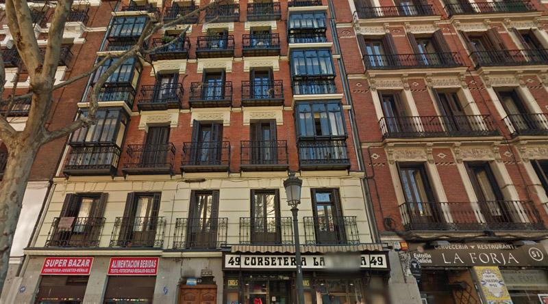 Habitaciones C/ de Toledo 49